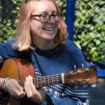 Madison Sheckel, musician on O'Baby Mine